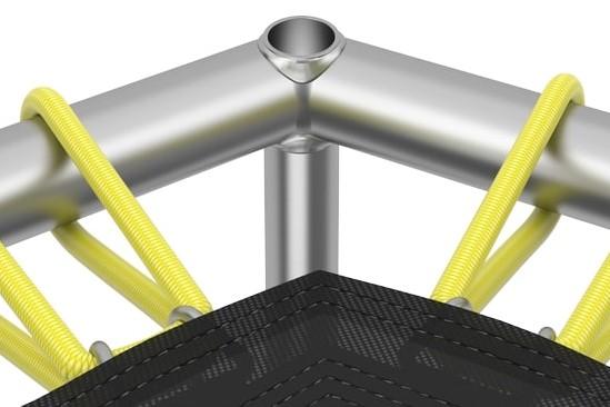 Pocinčana metalna konstrukcija bez oštrih rubova