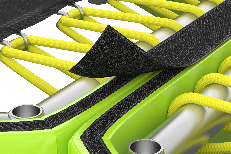 Trampolini su međusobno povezani s kvalitetnom čičak trakom