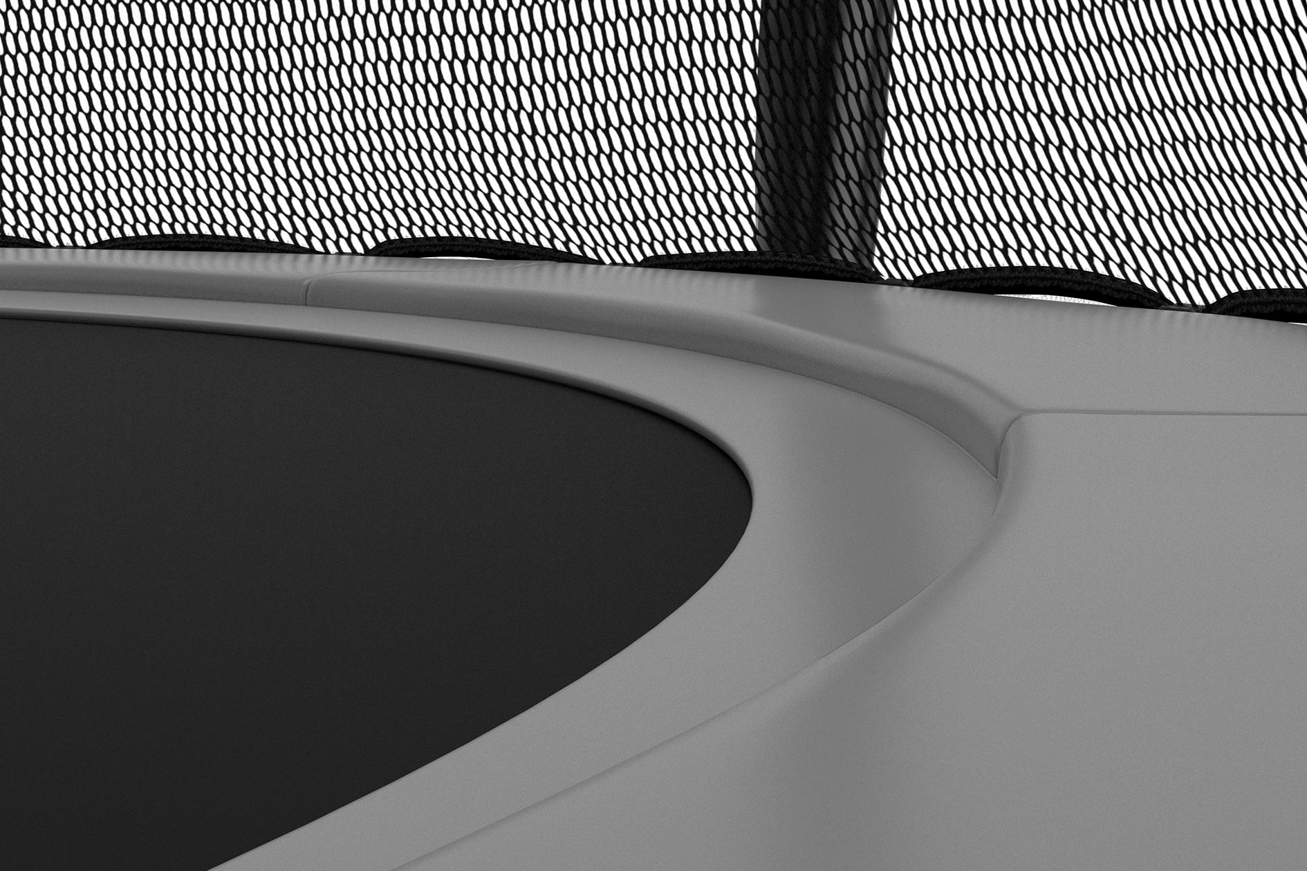 Glosy (sjajna) heavy-duty navlaka zaštitne strunjače otporna na UV zrake, vodu i vremenske utjecaje s dodatnom zaštitom od opruga