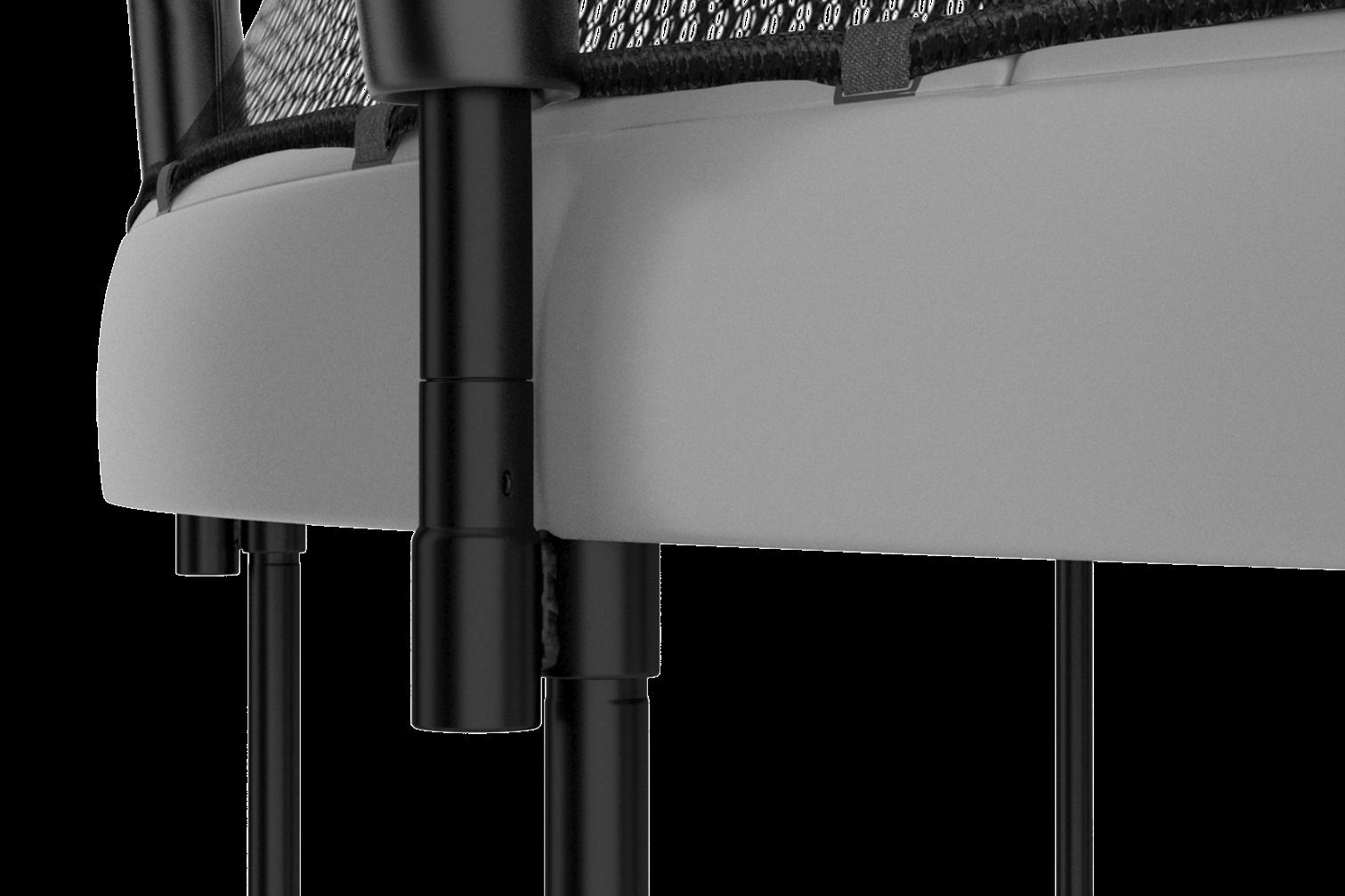 AkroClick sustav omogućava vrlo jednostavnu montažu nosive konstrukcije bez vijaka i alata